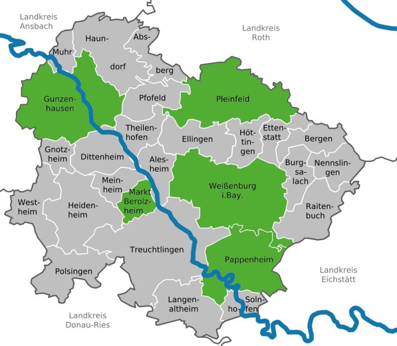 Ortsverbände | Weißenburg-Gunzenhausen